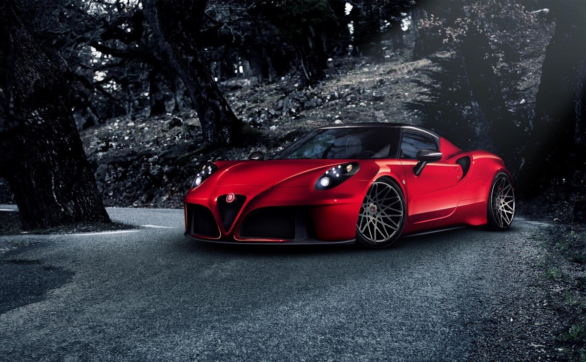 Alfa-Romeo-4C by Pogea Racing