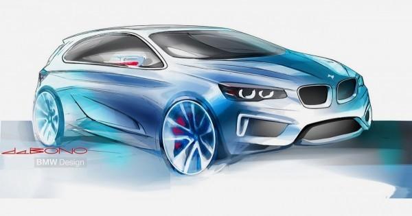 BMW Active Tourer Concept 2 sketch