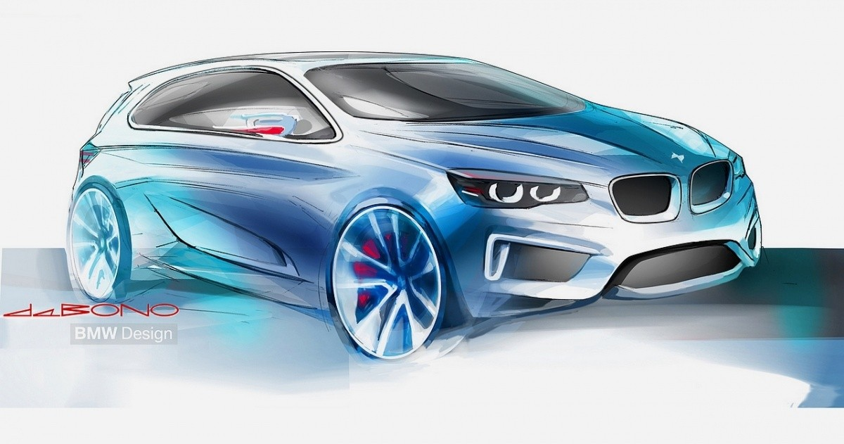 BMW Active Tourer Concept 2 sketch