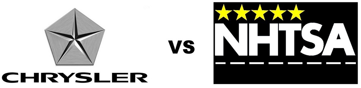 Chrysler versus NHTSA