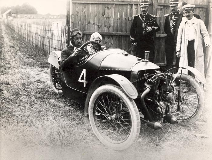 Morgan Three wheeler au GP d'Amiens