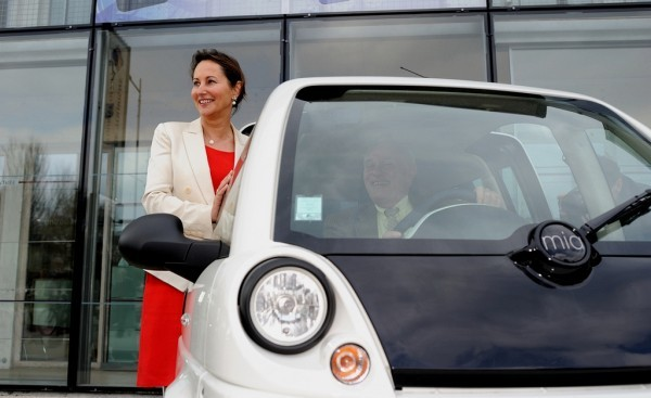 Ségolène Royal et Mia Electric