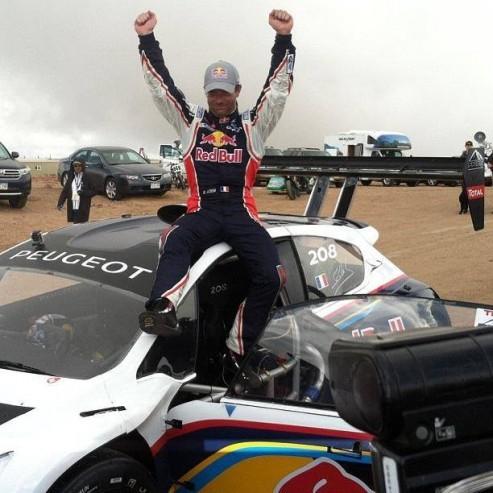 victoire de Loeb à Pikes Peak 2013