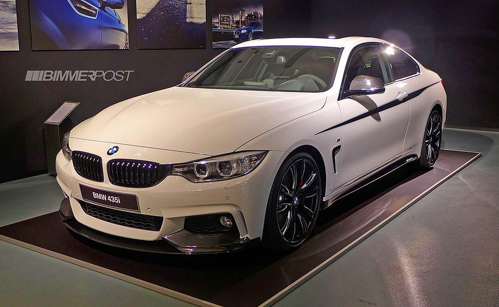 Bmw 435i M Performance Et Pack M Performance Pour Serie 4
