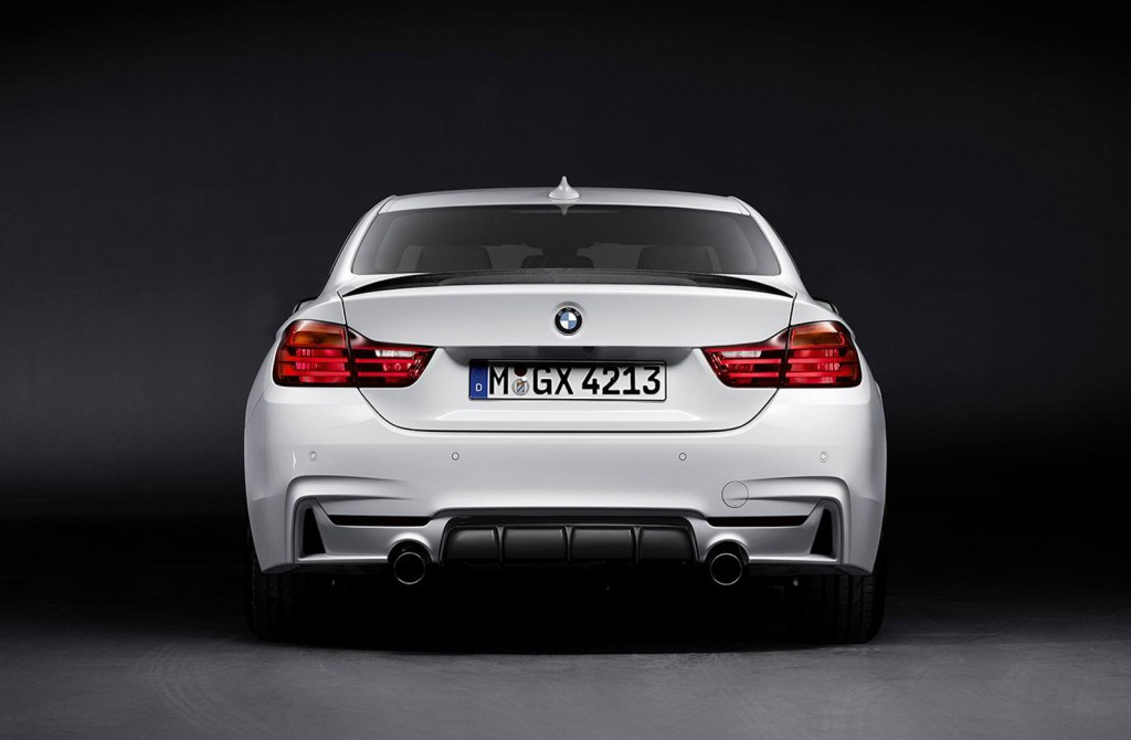 bmw 435i m performance et pack m performance pour serie 4 blog automobile. Black Bedroom Furniture Sets. Home Design Ideas