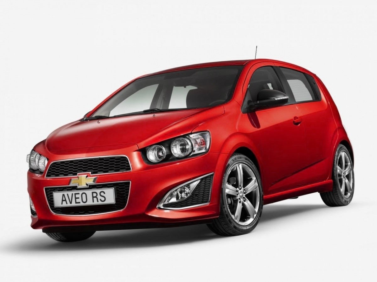 chevrolet aveo rs bient t en version spec euro. Black Bedroom Furniture Sets. Home Design Ideas