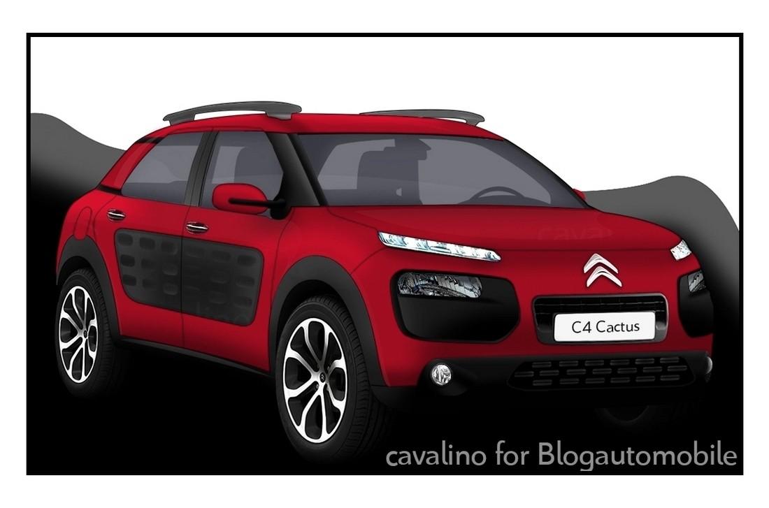 Citroën C4 Cactus ou E3
