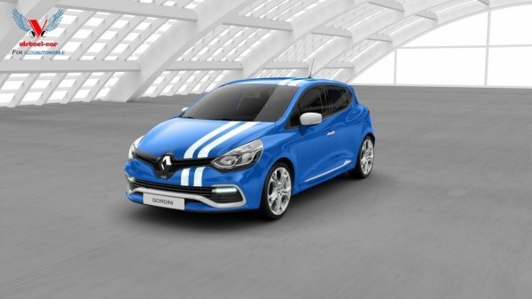 Photo Clio IV Gordini RS.1 600x337 Renault Clio Gordini RS 2014 : La voilà...