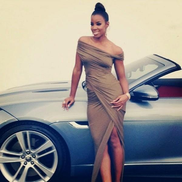 Kelly Rowland et Jaguar