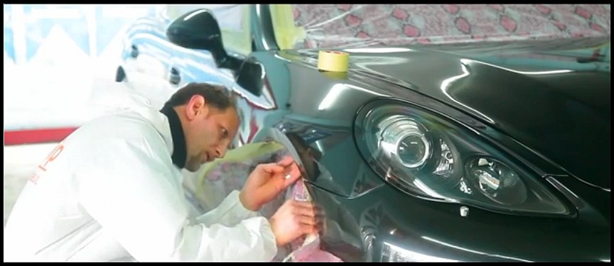Porsche Panamera Jaune