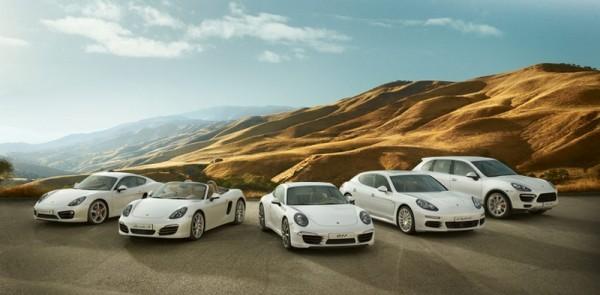 Porsche gamme 2013-2014