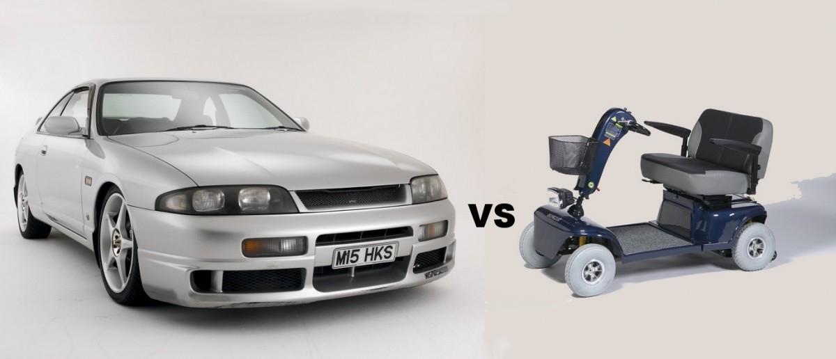 Skyline R33 versus SPMR