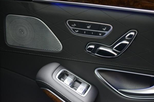 Mercedes S 2013 - Backseat control