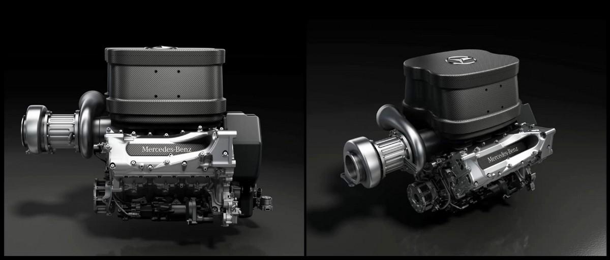Moteur Mercedes Benz V6 1