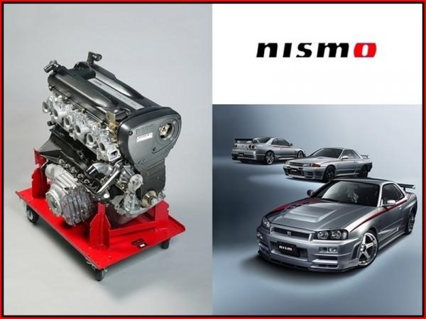 Moteur Nissan RB26DETT L6 2.6 L TwinTurbo par NISMO