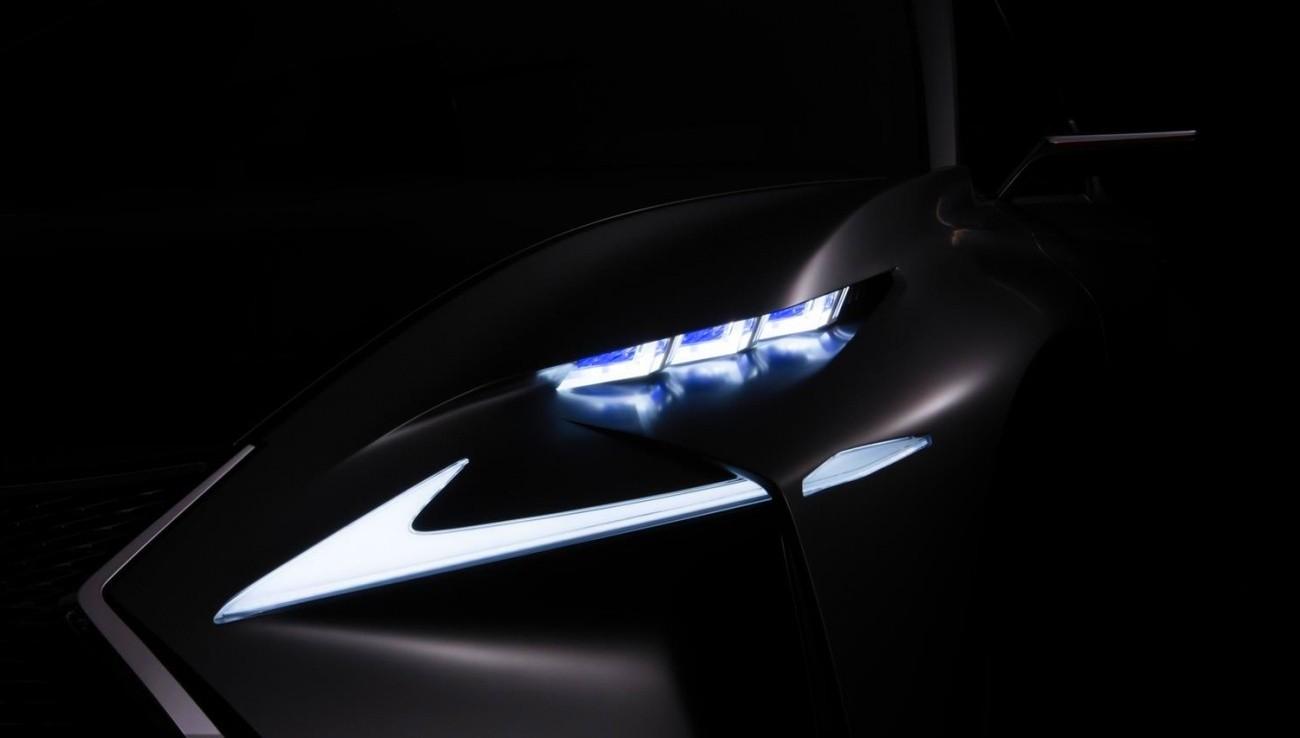 Teaser Lexus SUV compact