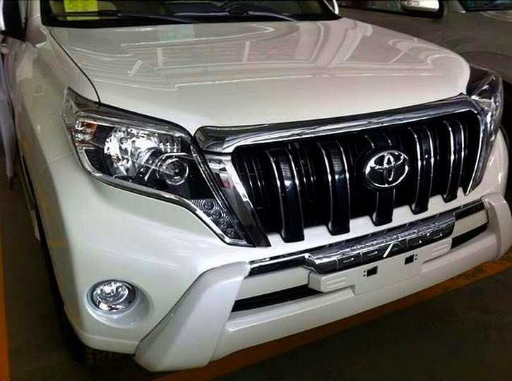 Toyota Land Cruiser restylé 2014