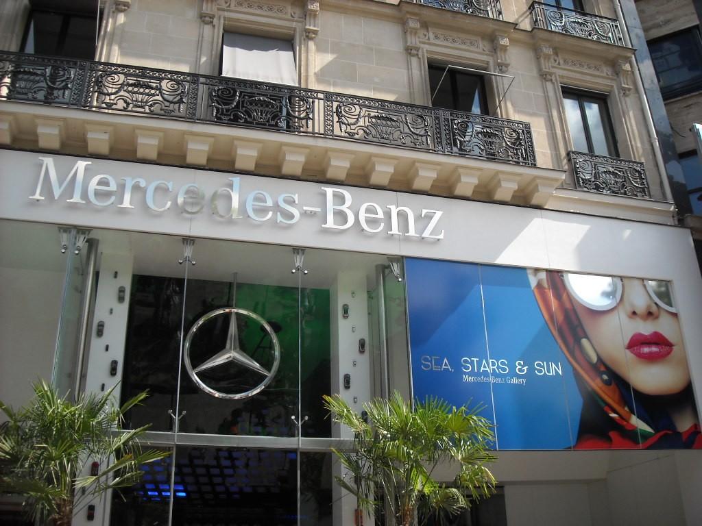 façade Mercedes Benz Gallery