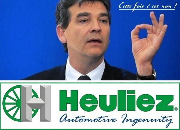 Arnaud Montebourg et Heuliez