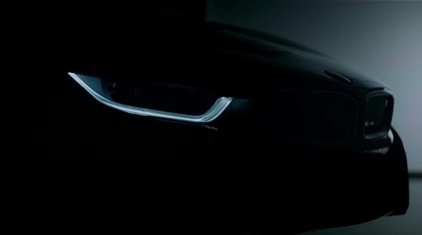 BMW i8 Teaser