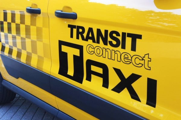 Ford Transit Connect Taxi.