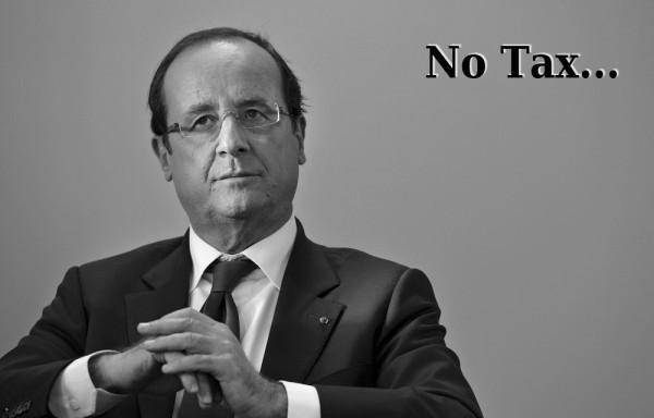 Francois Hollande et la taxe gasoil