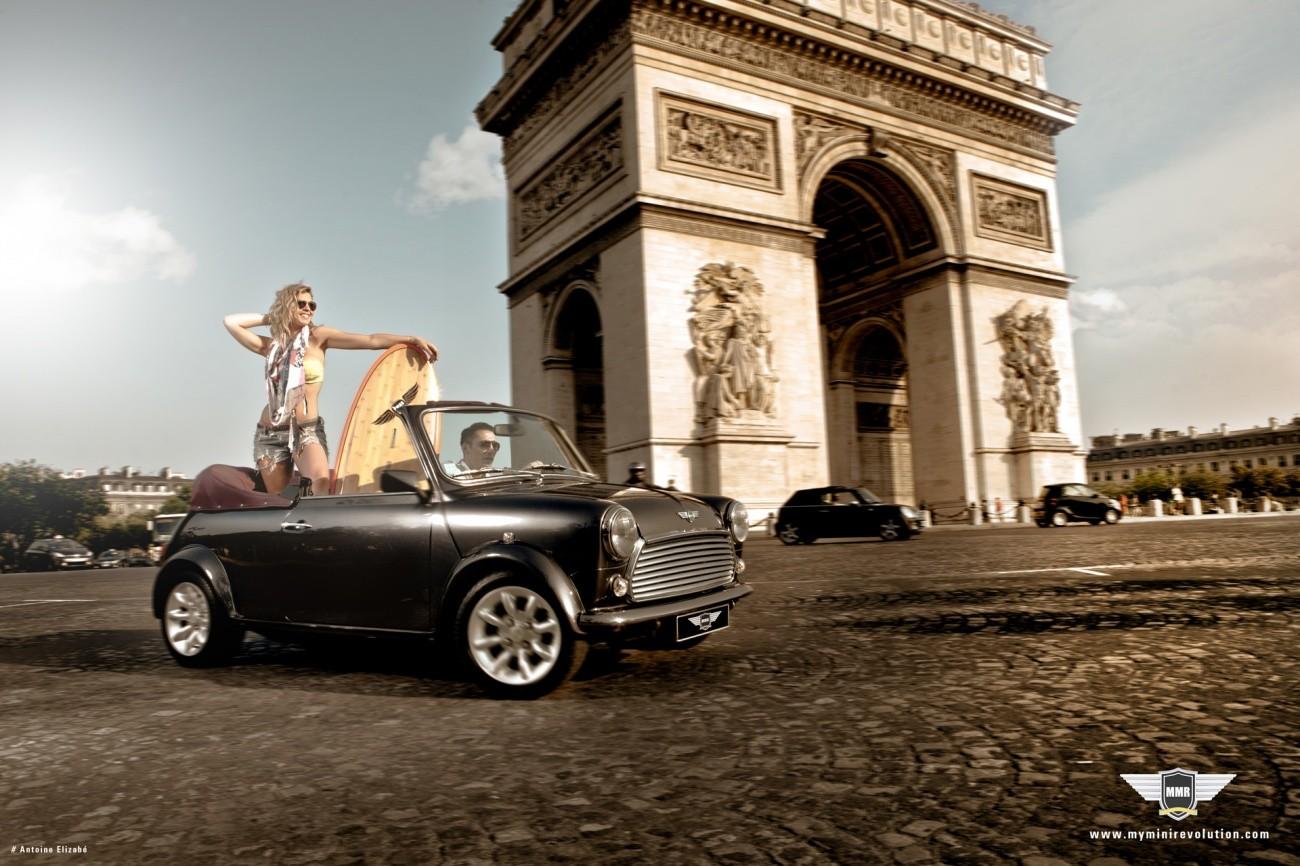 My Mini Revolution - Restauration Mini Arc de Triomphe - juillet 2013