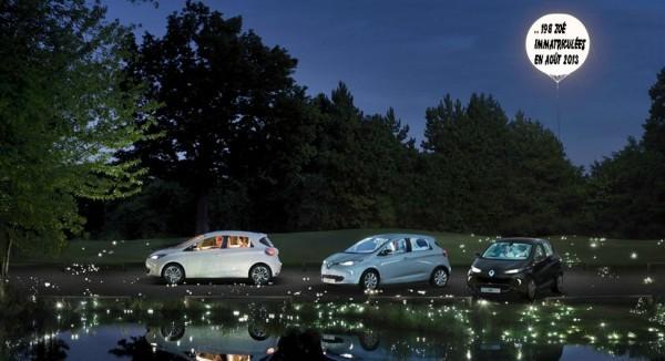 Renault Zoe en aout 2013