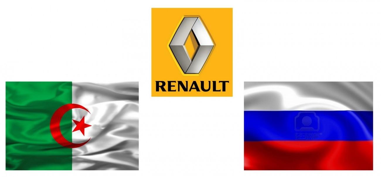 Renault avec l'Algérie et la Russie