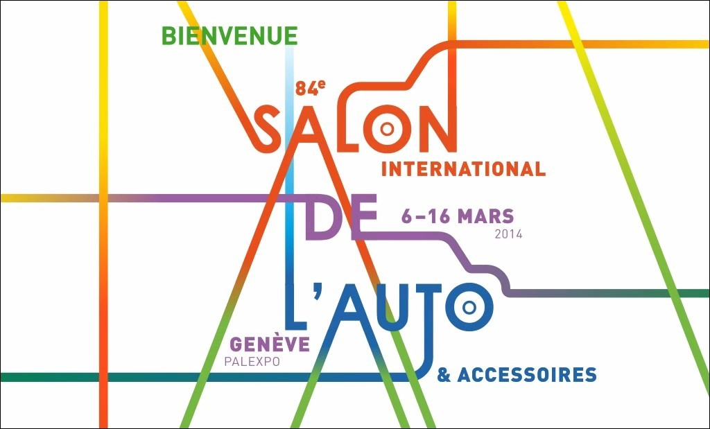 salon de l 39 auto de gen ve 6 16 mars 2014 il s 39 annonce avec son affiche blog automobile. Black Bedroom Furniture Sets. Home Design Ideas