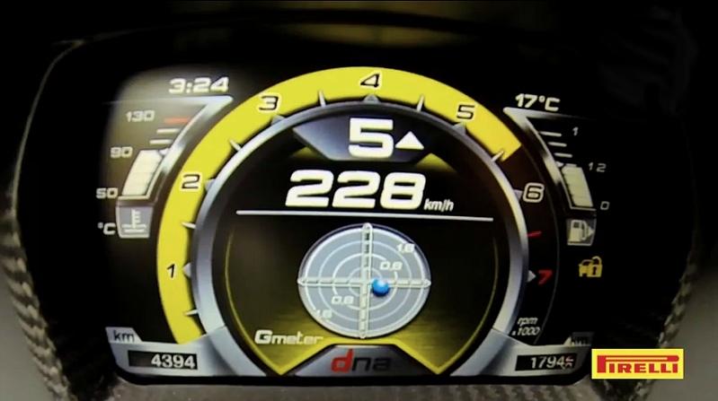 Alfa romeo 4C tableau de bord