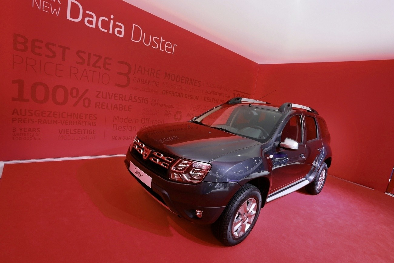 Dacia Duster 2014 Francfort