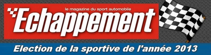 Election de la sportive Echappement 2013
