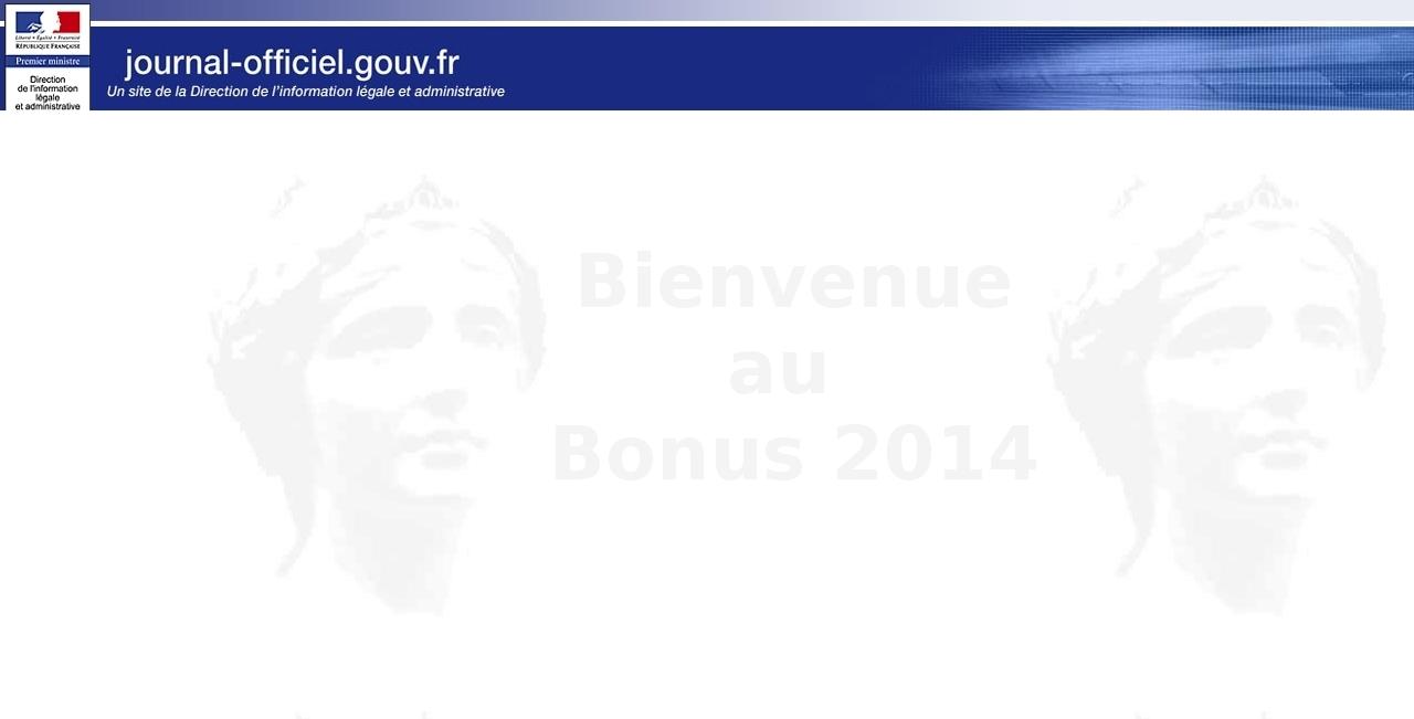 JO Bonus Malus 2014
