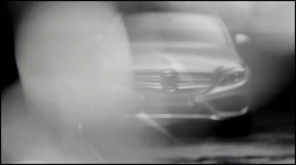 Mercedes Classe c 2014-2015 teaser