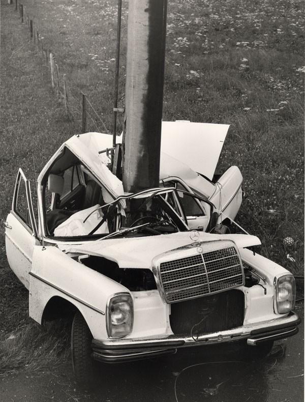 accident de la route Mercedes benz