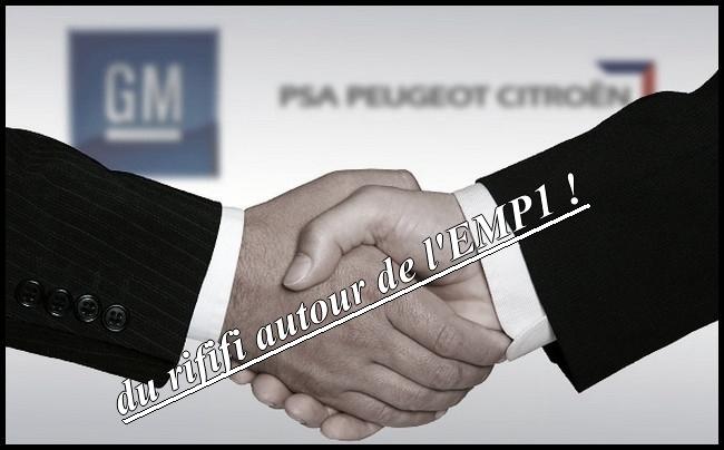gm psa  du rififi autour de l'EMP1