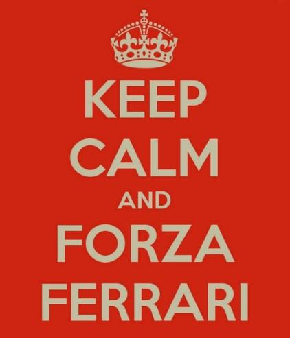 Ferrari. Tout va bien