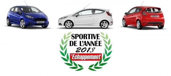 Ford Fiesta - Sportive de l'année 2013