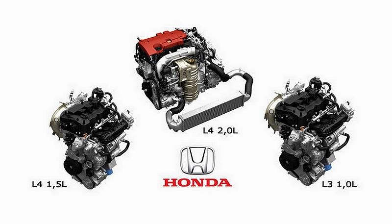 Honda nouveaux moteurs VTEC Turbo
