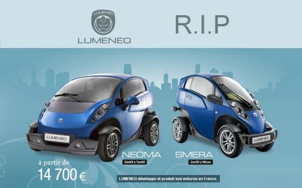 Lumeneo n'est plus