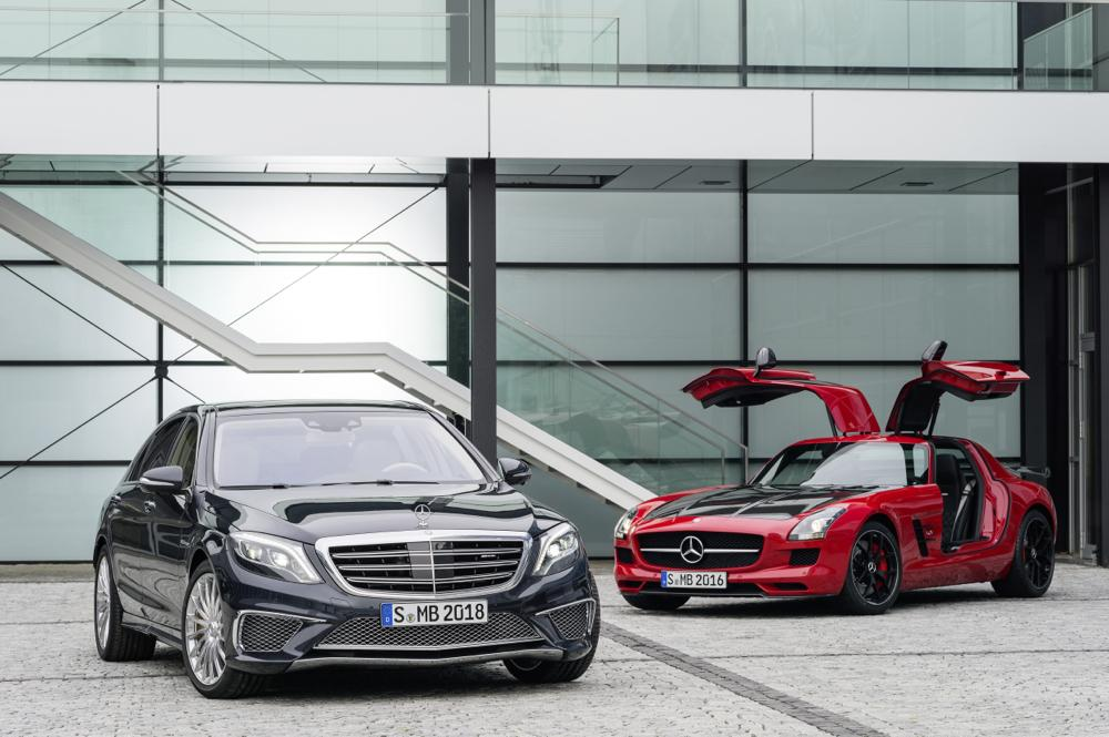 Mercedes Benz S65-AMG et SLS-AMG-GT-FINAL-EDITION