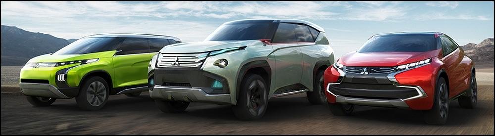 Mitsubishi-3 Concept Cars pour Tokyo