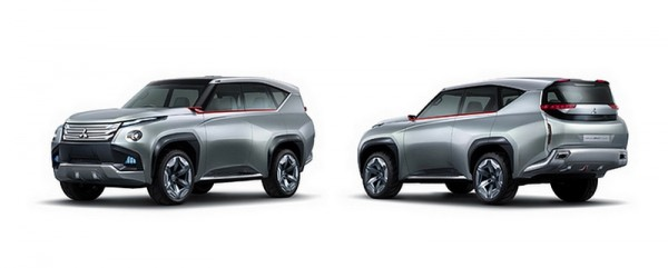 Mitsubishi GC-PHEV (Grand Cruiser) Concept