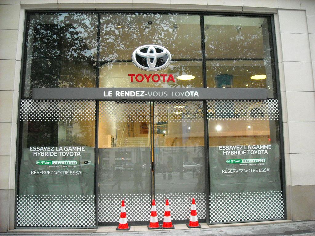 Rendez-vous Toyota (2) en chantier