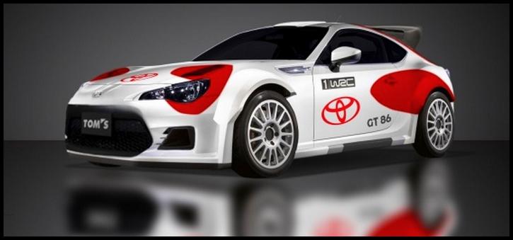 Toyota GT86 CS Rallye WRC