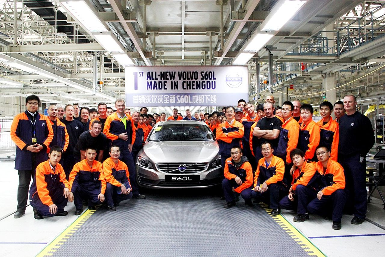 Volvo S60 L made in Chengdu