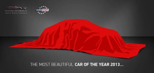 election de la plus belle voiture de l'année 2013