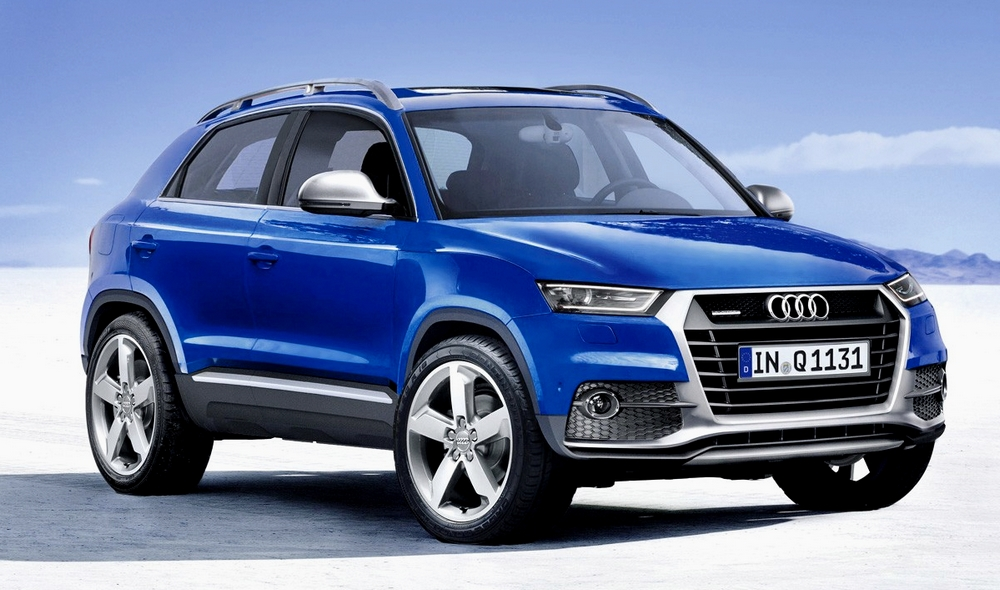 Audi Q1 2016 illustration Auto Bild