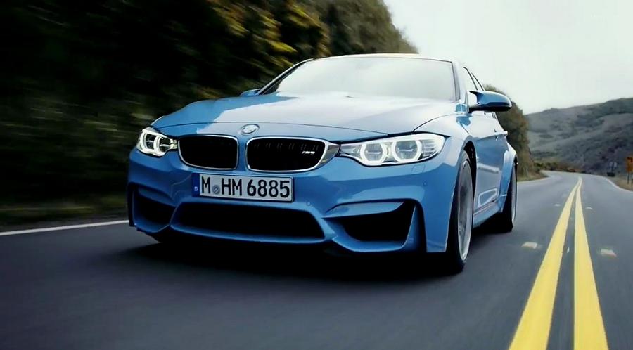 BMW M4 vidéo